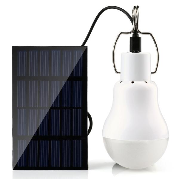 Lampe Solaire Portable 15W Basse Consommation