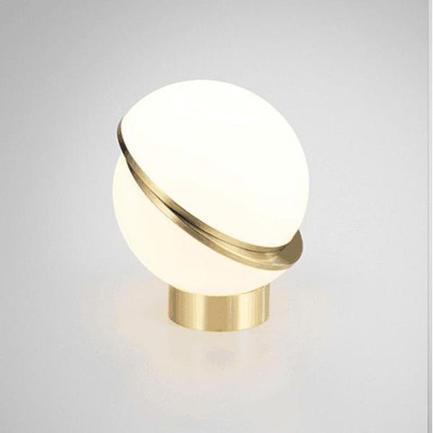 Lampe de Table Nordique en Cercle