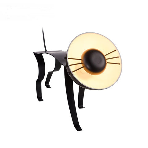 Lampe de Table Post Moderne Créatif – Design de Chat qui Marche