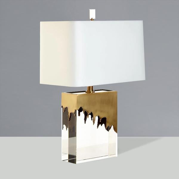 Lampe de Table Simple Moderne en Cristal