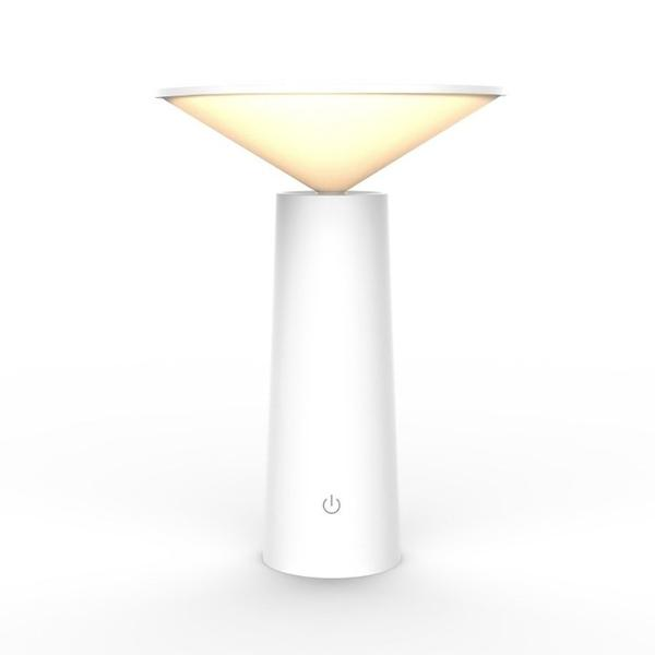 Lampe de table micro-USB Blanc Moderne