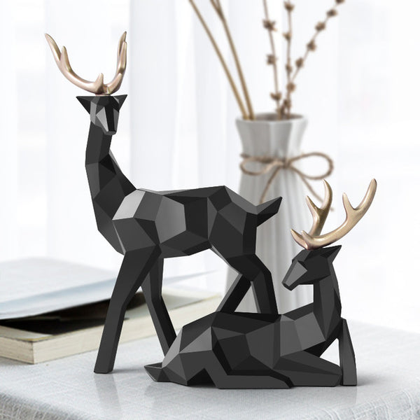 Sculpture de Cerf