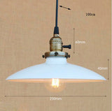 Suspension Industrielle en Fer Moderne LED