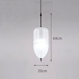 Suspension Moderne LED en Verre en Forme de Larme - FLOAT