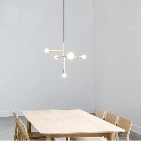 Suspension Moderne Or