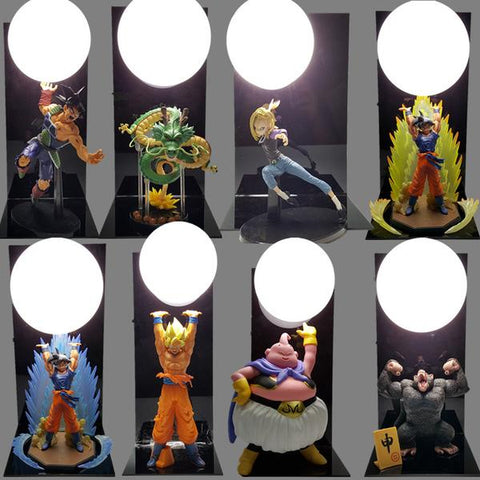 Veilleuse Dragon Ball SonGoku Boo Bombes LED
