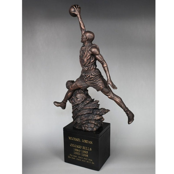 Sculpture de Basketball - Chicago BULLS Michael Jordan No.23