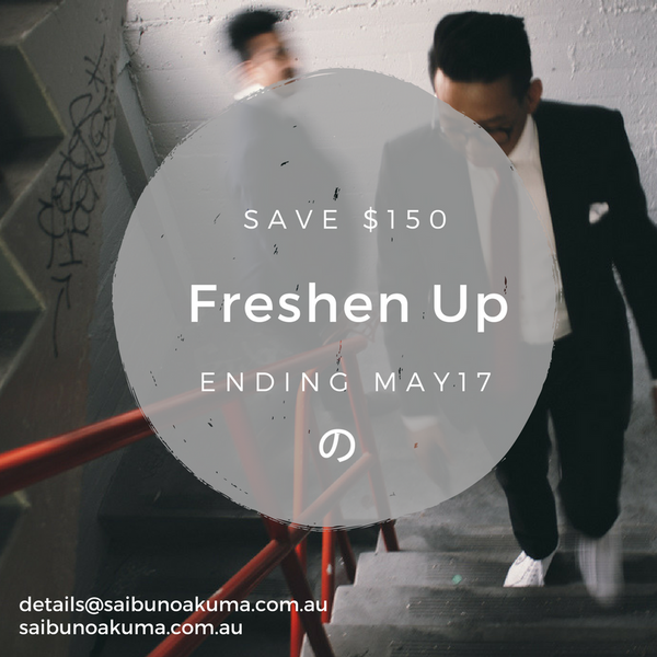 'FRESHEN UP' Promotion 2017