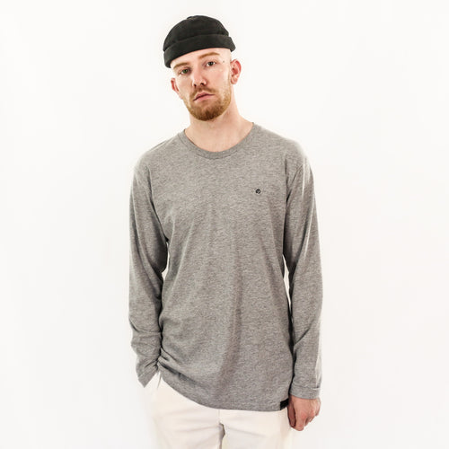 Saibu No Akuma Essential Lifestyle Long Sleeve - Grey