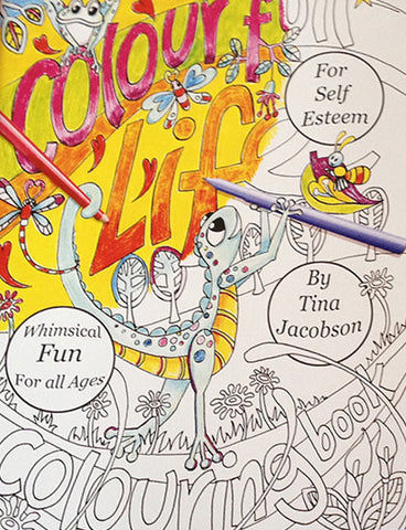 Colourfull Life Colouring Book