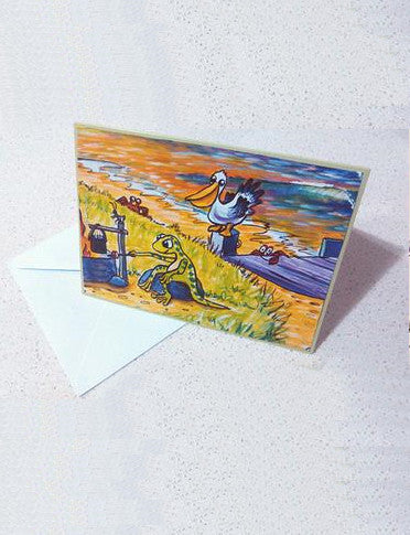 Stunno's Blank Greeting Cards - Pack of Three