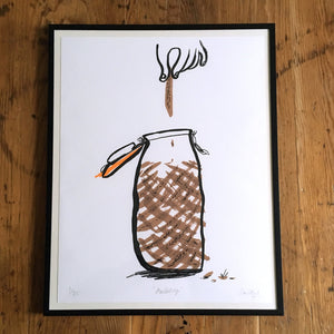Anchovy Limited Edition Print (unframed)