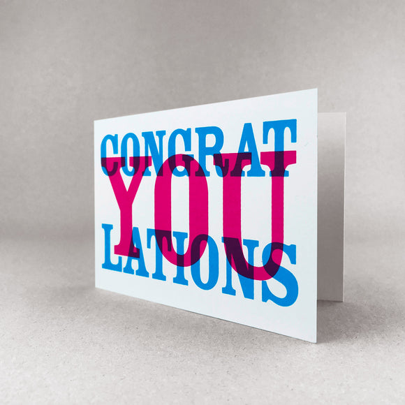 CongratYOUlations card