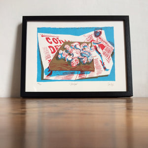Polpo Limited Edition Print (unframed)