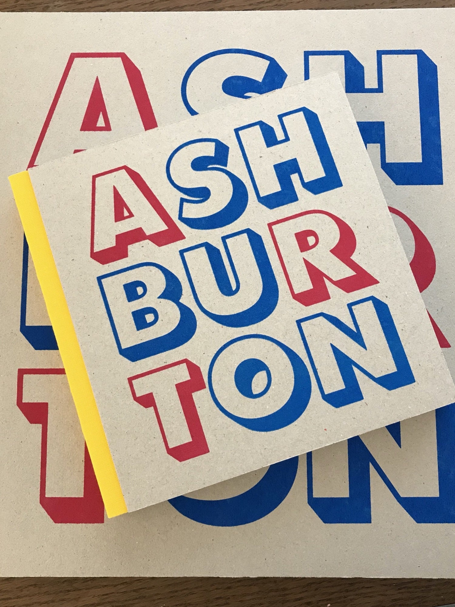 Ashburton Art small sketchbook - Yellow spine