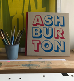 ASHBURTON big sketchbook red spine
