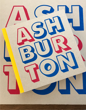 ASHBURTON big sketchbook yellow spine
