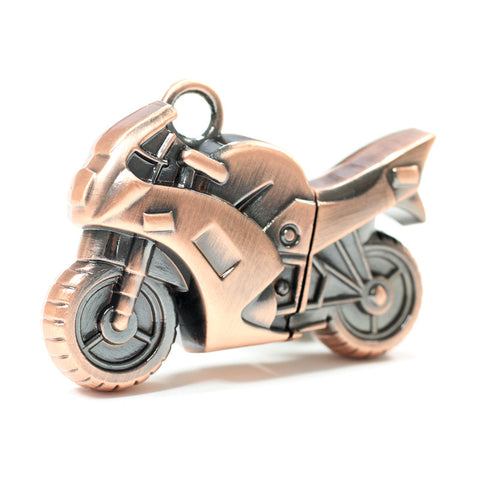 Metal Motorcycle USB Flash Drive <span> 8 / 16 / 32 / 64 / 128 / 256 / 512 GB