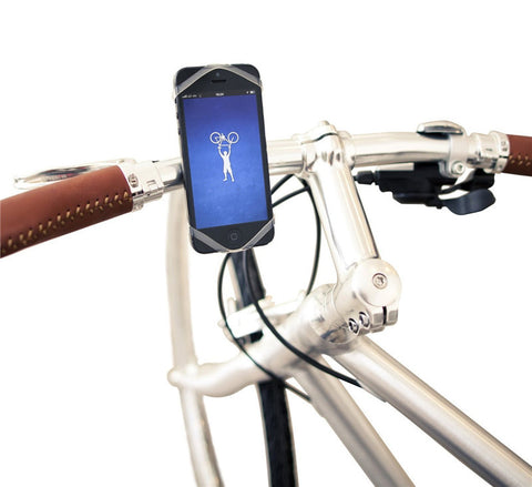 Universal Silicon Smartphone Bike Mount Cell Phone Holder for iPhone Samsung HTC and Every Bike