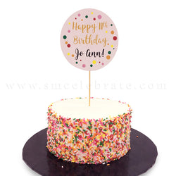 Confetti Party Cake