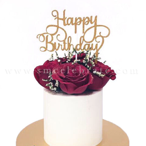 Stupendous Glamorous Red Roses Cake For Birthday Sweetest Moments Lets Funny Birthday Cards Online Necthendildamsfinfo