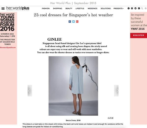 25 Cool Dresses for Singapore's Hot Weather / Her World Plus