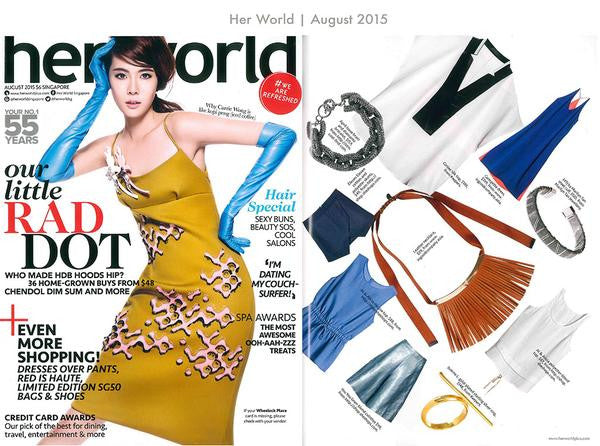 Product Feature / Her World Singapore