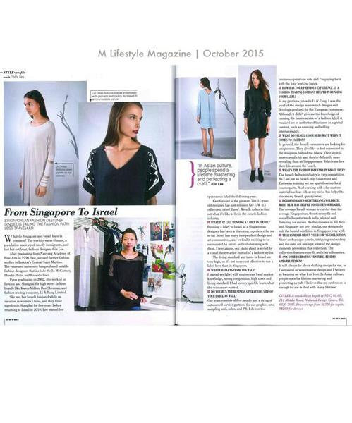 From Singapore to Israel / M Lifestyle Magazine
