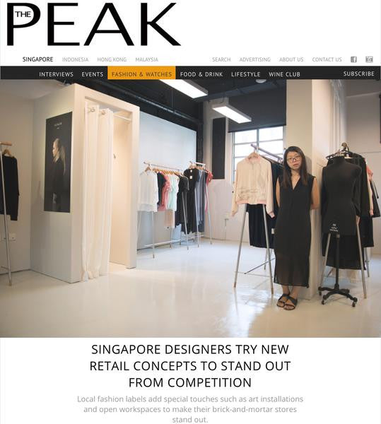 SINGAPORE DESIGNERS TRY NEW RETAIL CONCEPTS TO STAND OUT FROM COMPETITION / The Peak Magazine