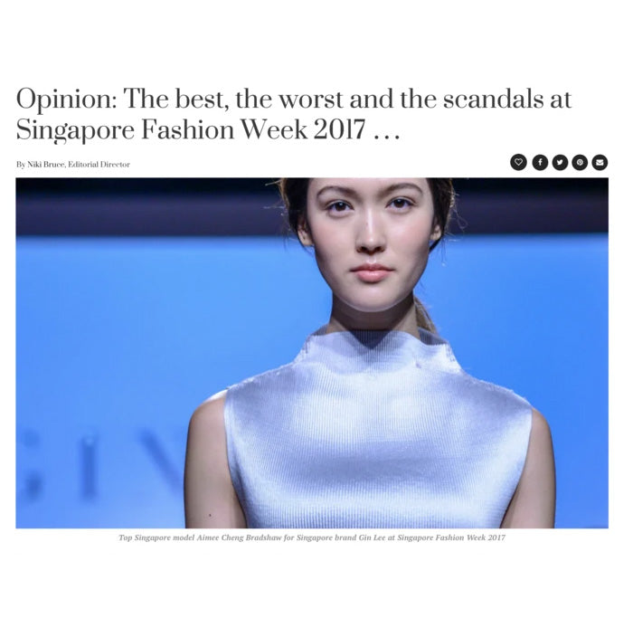 honeycombers: Opinion: The best, the worst and the scandals at Singapore Fashion Week 2017 ...