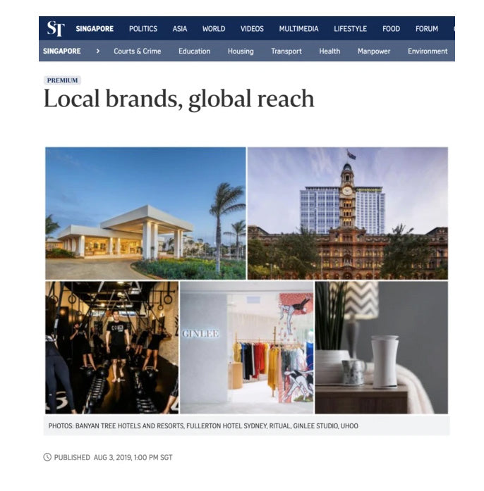 StraitsTimes: Local brands, global reach