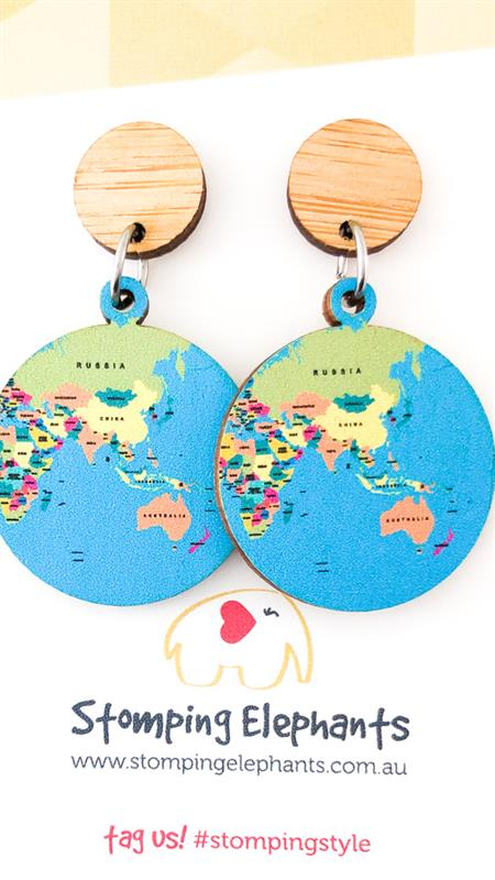 The Atlas Earrings - Get Ready For School Australia