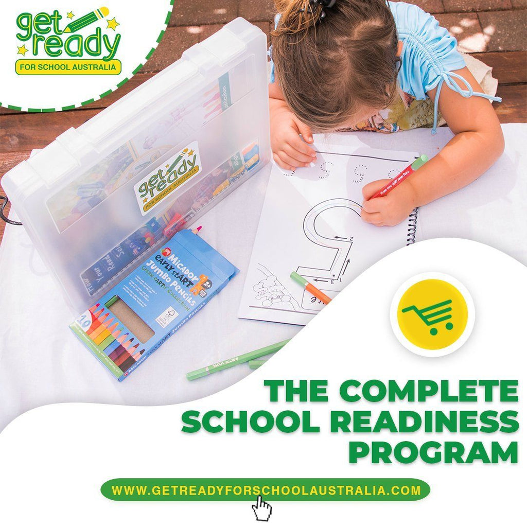 The Complete School Readiness Program - Ideal for ages 3 to the end of Kindy/Prep. - Get Ready For School Australia