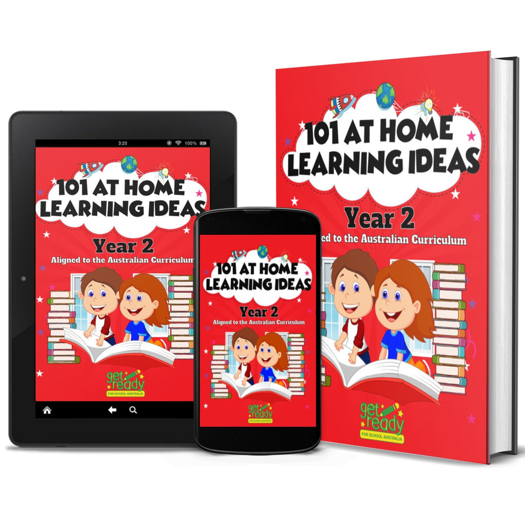 Digital Version - Year 2 - 101 At Home Learning Ideas - Get Ready For School Australia