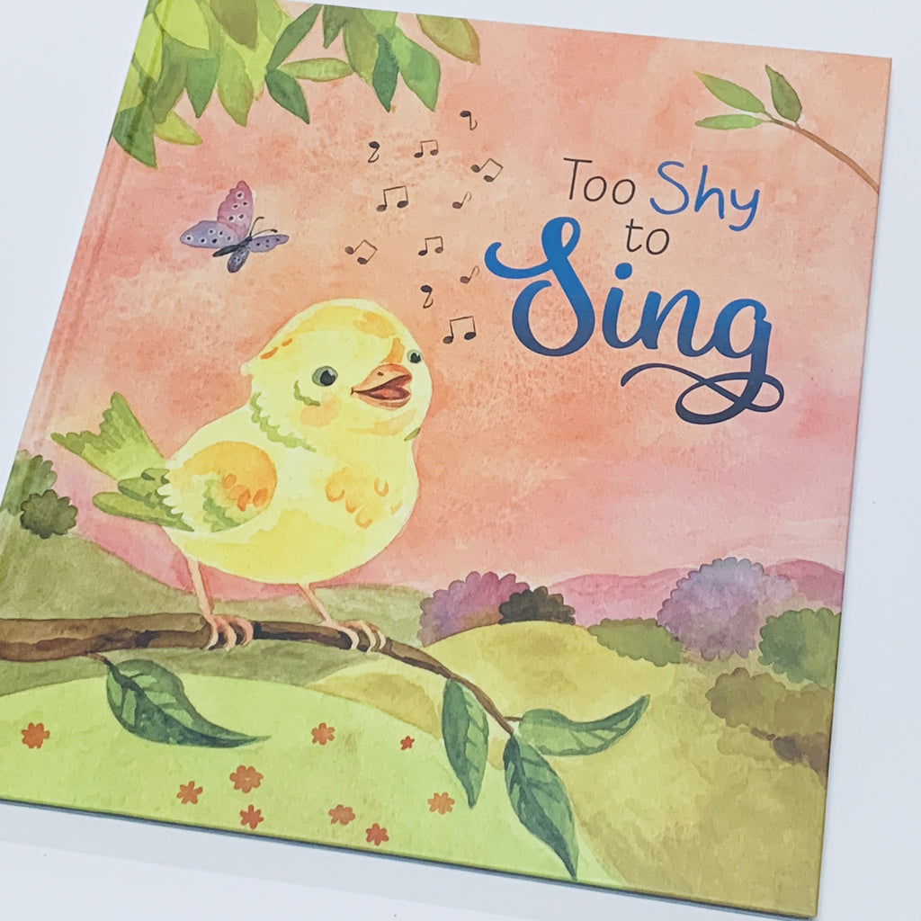 Too Shy to Sing by Lisa Regan and Anna Shuttlewood - Hardcover Children's Book - Get Ready For School Australia