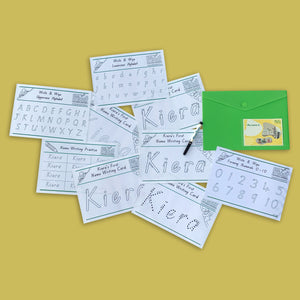 The Mini Write and Wipe Bundle - Get Ready For School Australia