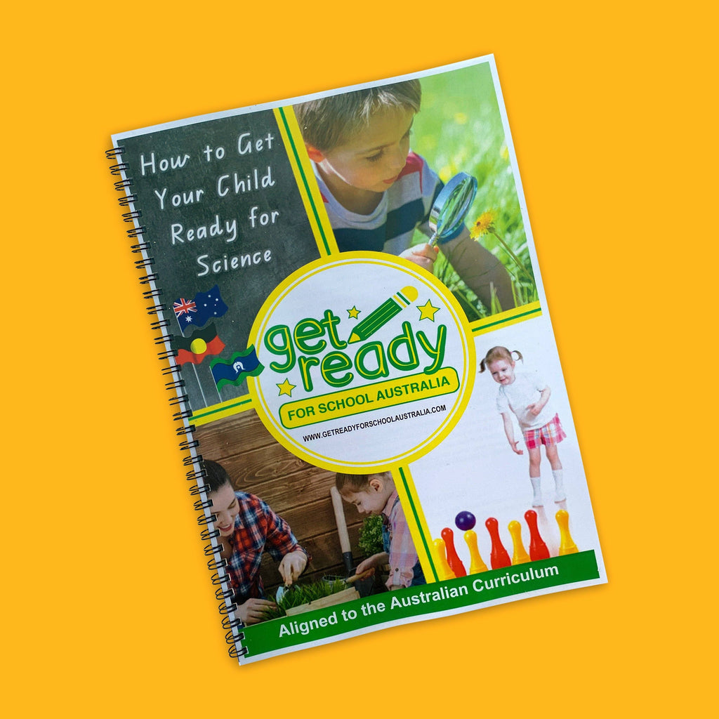 How To Get Your Child Ready For Science - Parent Activity Guide - Get Ready For School Australia