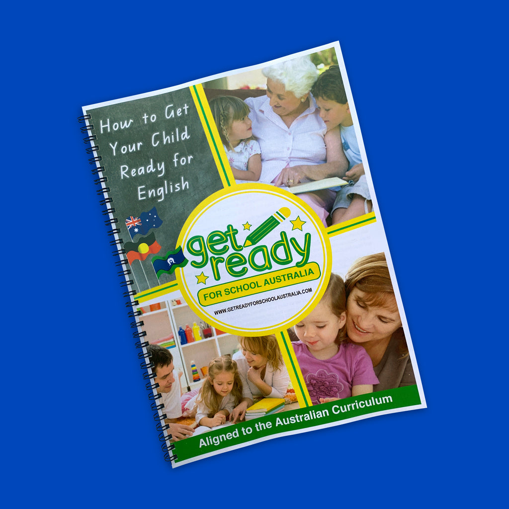 How To Get Your Child Ready For English - Parent Activity Guide - Get Ready For School Australia