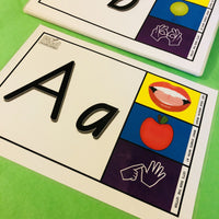 Alphabet Flash Cards - Get Ready For School Australia