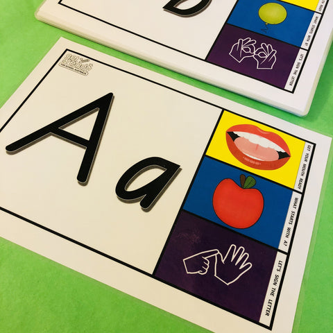 Alphabet Flash Cards - Free Shipping within Australia - Get Ready For School Australia