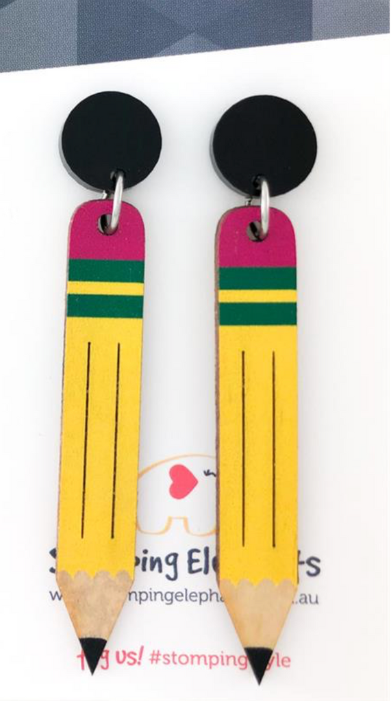 The HB Earrings - Get Ready For School Australia