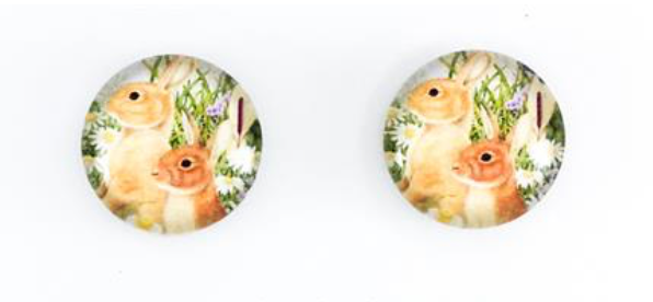 Bunny Pals Earrings - Get Ready For School Australia