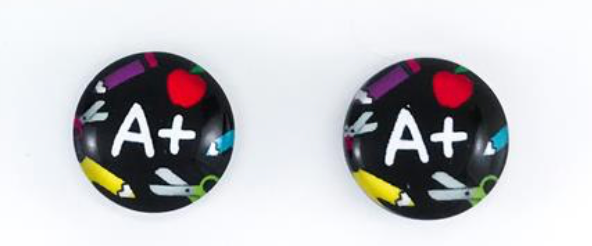 Teachers Pet Earrings - Get Ready For School Australia