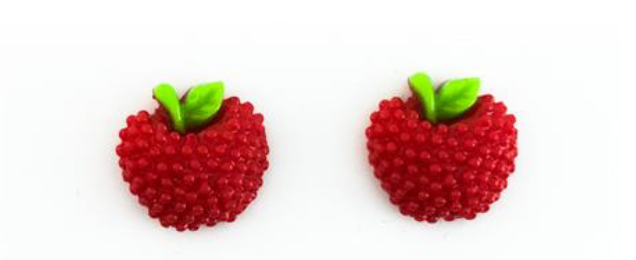 Tootie Frootie Red Earrings - Get Ready For School Australia