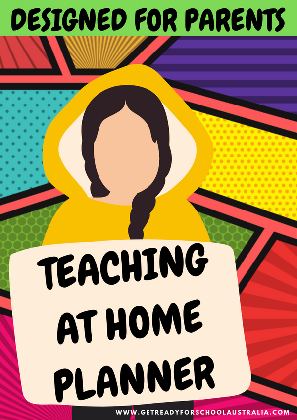 Teaching At Home Planner - Designed for Parents - Printable! - Get Ready For School Australia