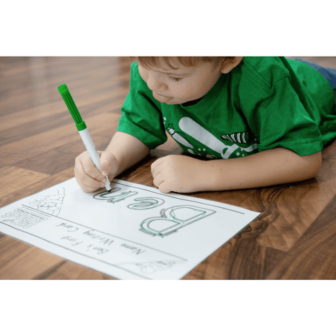 Laminated Personalised Name Writing Set - Free shipping within Australia (Enter your child's name at checkout) - Get Ready For School Australia