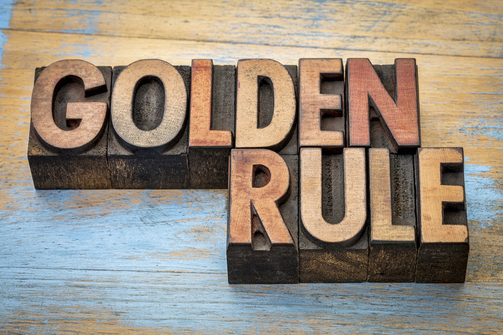 Remember The Golden Rule When Managing Cash Flow