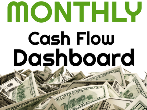 Monthly Cash Flow Dashboard