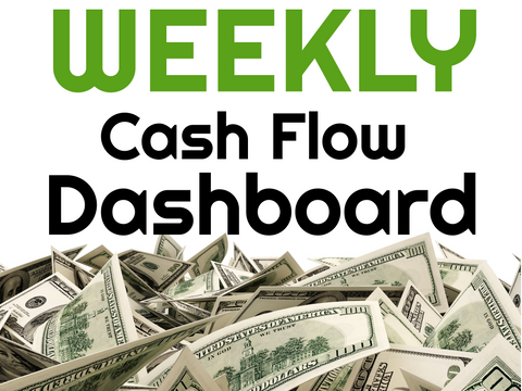 Weekly Cash Flow Dashboard