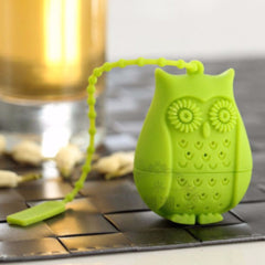 Silicone Owl Tea Filter Infuser